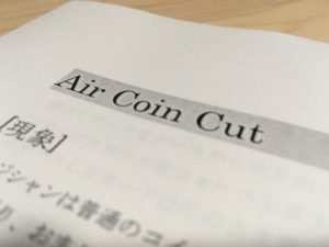 Air Coin Cut